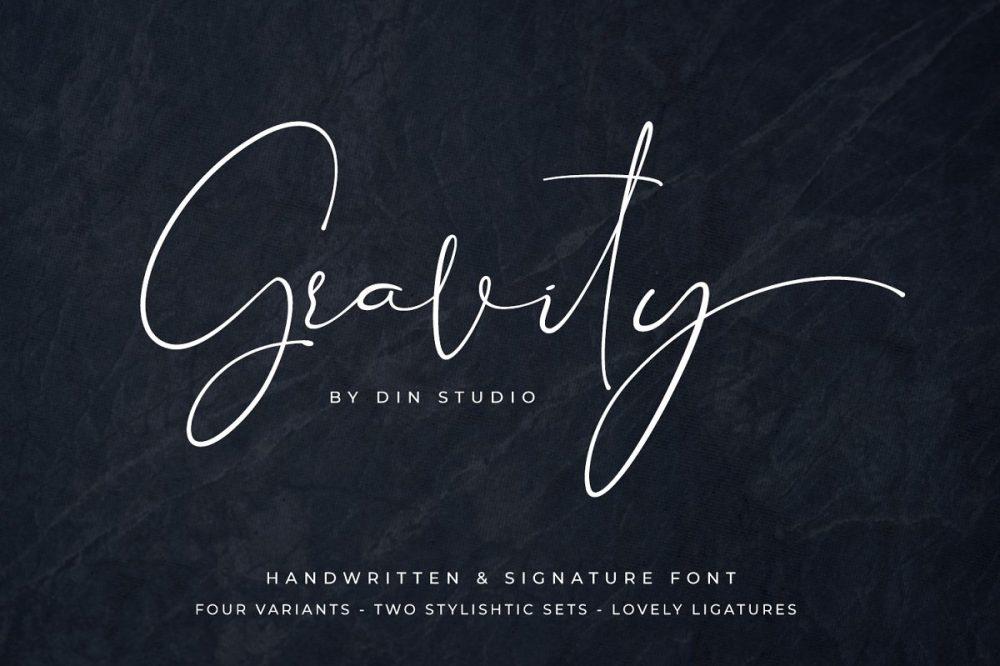 gravityfonts-